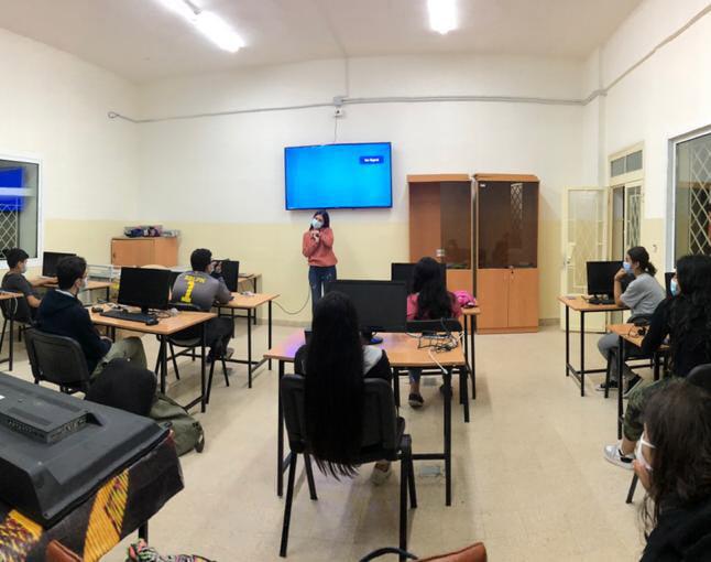 Code Today, Create Tomorrow in Furn al-Chubbak and Sassine