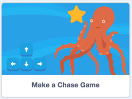 Chase Game with Scratch